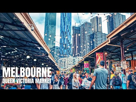 Queen Victoria Market Melbourne Australia Shopping Tour【2019】