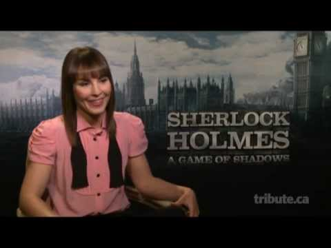 Noomi Rapace - Sherlock Holmes: A Game of Shadows Interview with Tribute
