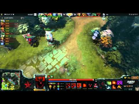 Легендарные Матчи из Dota 2 №1: VG vs Secret \ Legendary matches of Dota 2 #1: VG vs Secret.