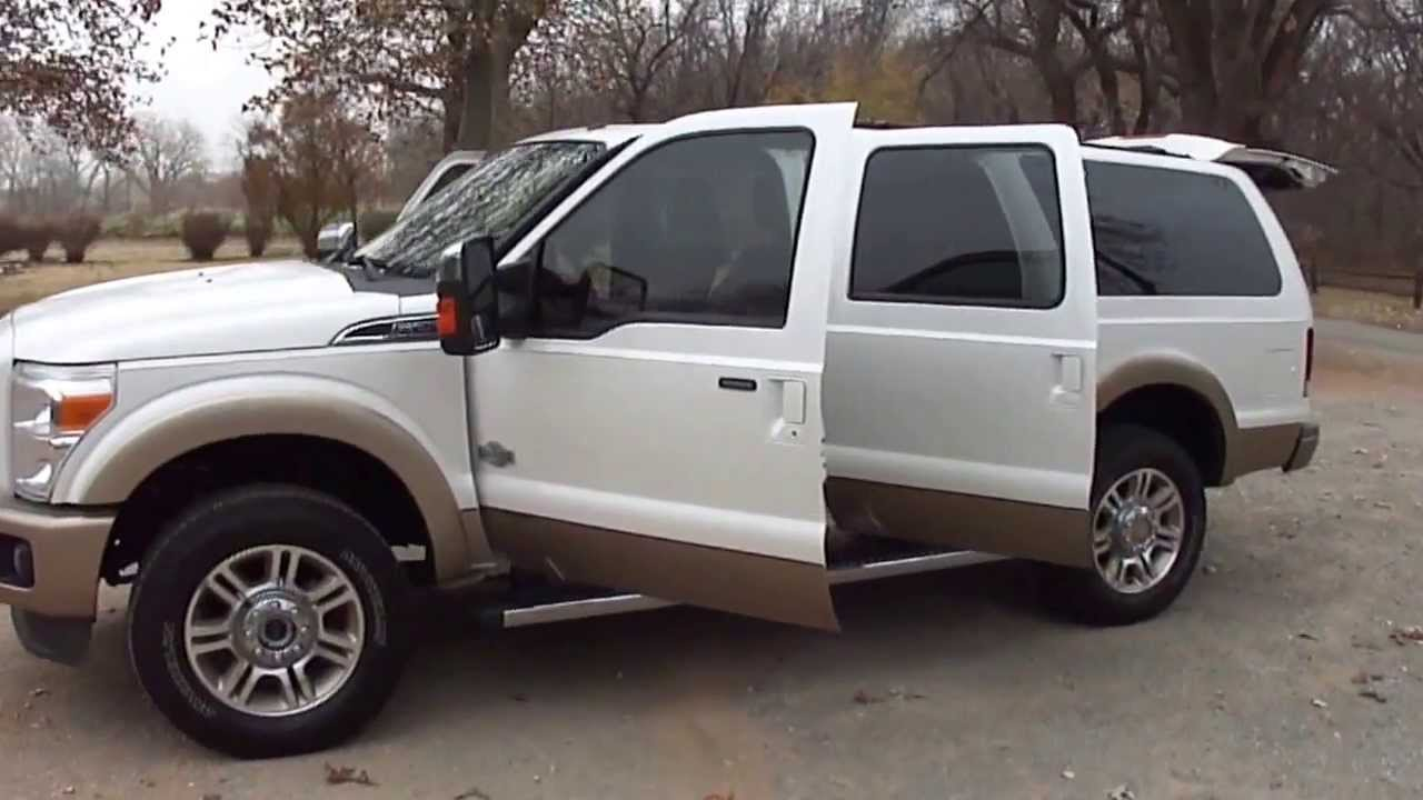 King Ranch Excursion Cabt Youtube
