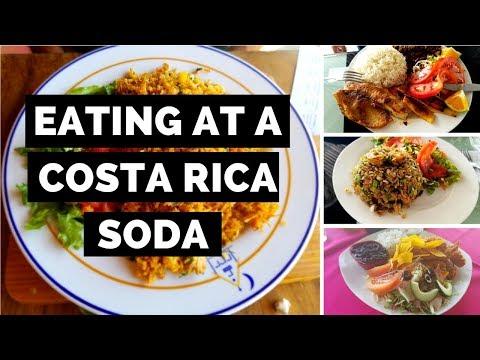 Eat at a Costa Rica Soda - 360 Video