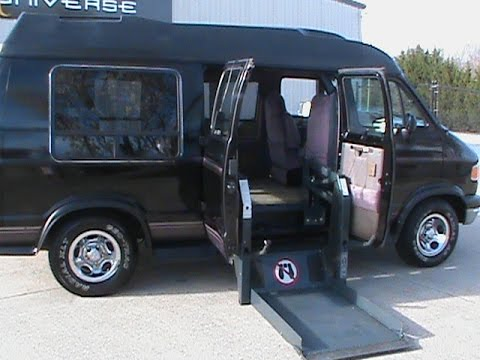 1996 Dodge Ram Wheelchair Van, Handicap Van For Sale, Charlotte, NC, EJ Dulina