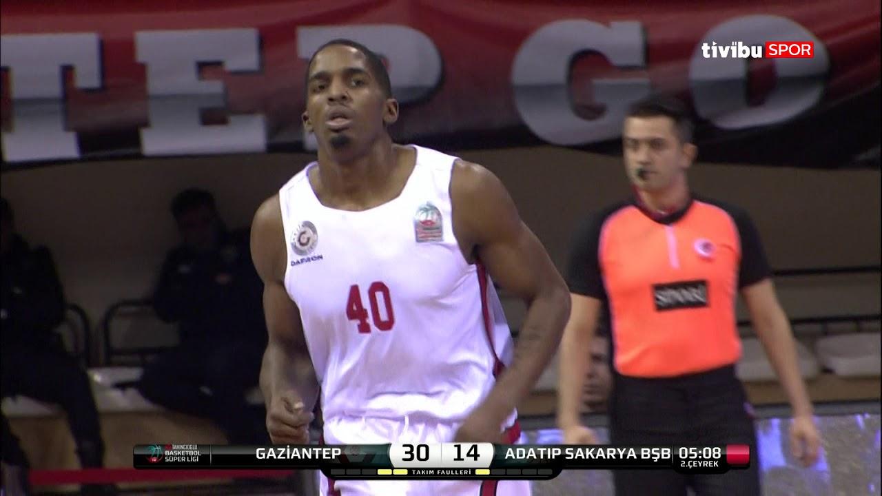 Maç Özeti:Gaziantep Basketbol - Adatıp Sakarya BŞB Basketbol