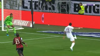 Angel Di Maria with outrageous chip from an acute angle vs Nice | Ligue 1 19/20 Moments
