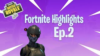 Elite Agent Skin | Fortnite Highlights Ep.2