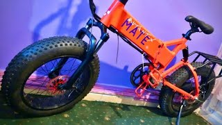 My MATE X (mate.bike) 20x4 Fat Tyre eBike Story #5 Warranty Repair Motor FIX !!!