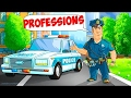 Learn Jobs and Occupation | Learning Professions for kids by GoKids! | Child Educational game videos