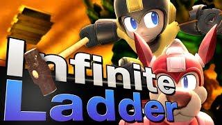 Smash 4 Wii U - Infinite Mega Man Ladder