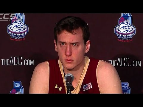 Boston College Senior in Tears After Final Basketball Game