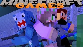 Minecraft GAMES - LITTLE CARLY GETS KILLS!! w/Little Carly & Little Kelly!!