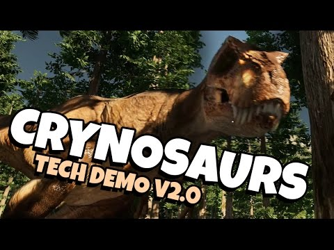 Crynosaurs Tech Demo V2.0 | RAPTORS AND T.REX'S