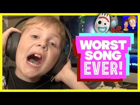 Toy Story: WORST Song Ever & Music Video! Toy Story 4 Forky Woody | Country Music Song Pickup Truck