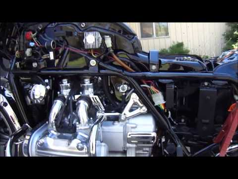 1978 Honda GL1000 Goldwing ~ 1st Start ~ by Randy's Cycle Service @ rcycle.com