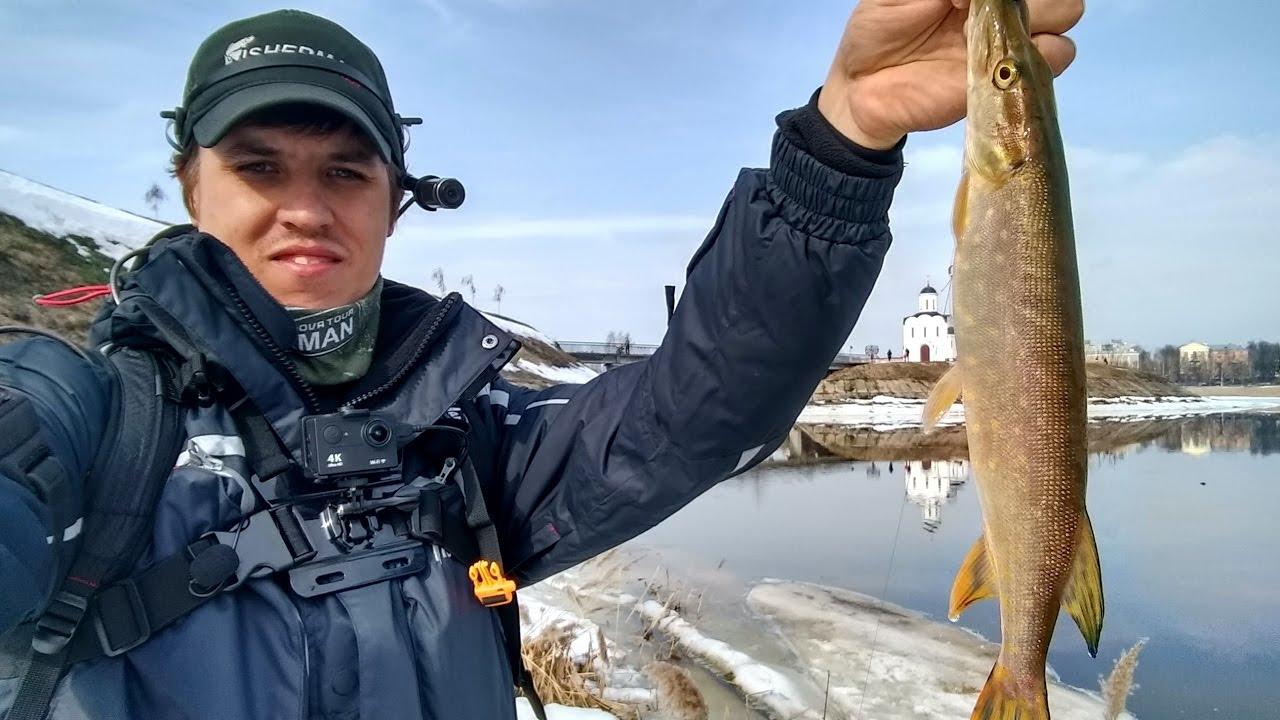 Рыбалка на карьере в твери
