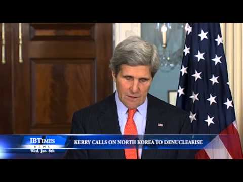 John Kerry Calls on North Korea to Denuclearise