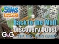 The Sims Freeplay- Back to the Wall Quest