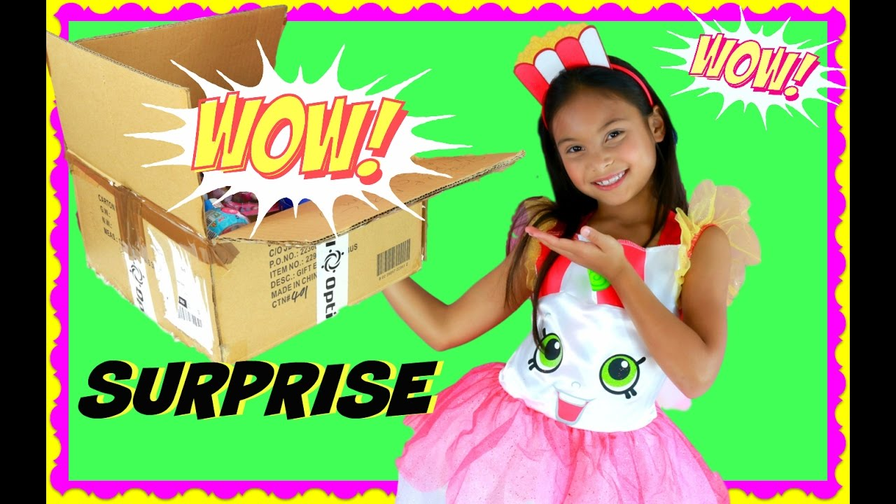 Giant Surprise Toy Box Swap From Toys Andme Tiana Youtube