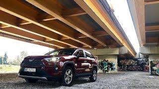 Toyota RAV4 2019 Hybrid FWD test PL Pertyn Ględzi