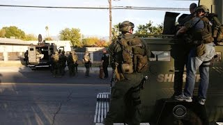 Police scanner details dramatic shootout with San Bernardino suspects