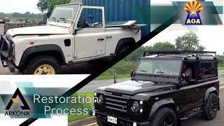 Arkonik Defender Restoration Process