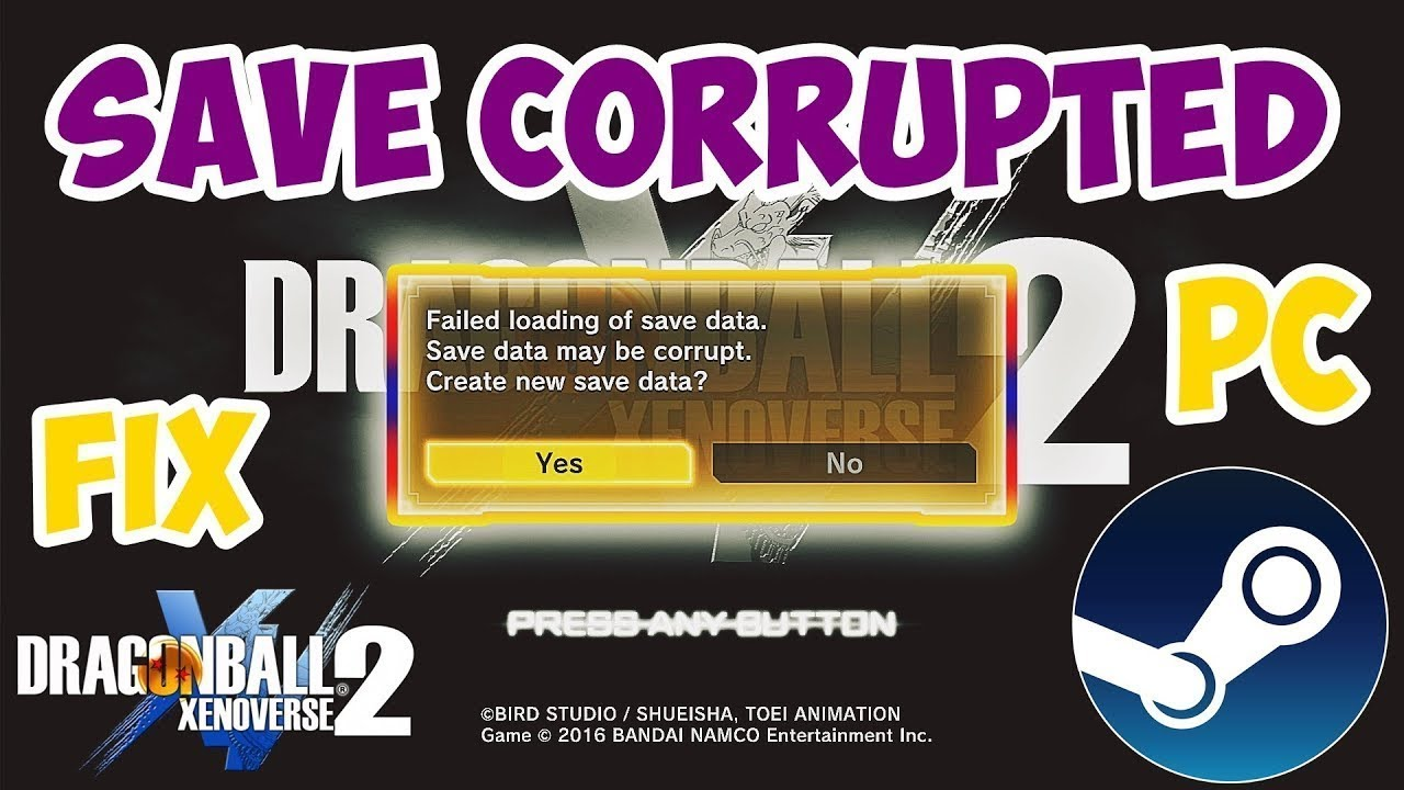 Save Convertor xenoverse2 ✅ How To Fix ''Save Corrupted'' After: Steamfix  or Installing New DLC
