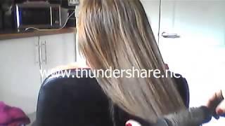 ASMR - HAIR PLAY & CLOSE UP WHISPERS