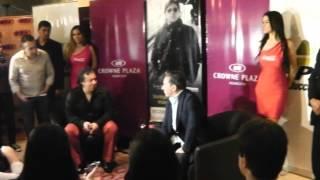 Ricardo Montaner en Paraguay 2013 - Compartir escenario con hijos