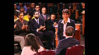 Image of the Black Athlete ESPN Town Hall Meeting with Bob Ley and Robin Roberts (Part 67)