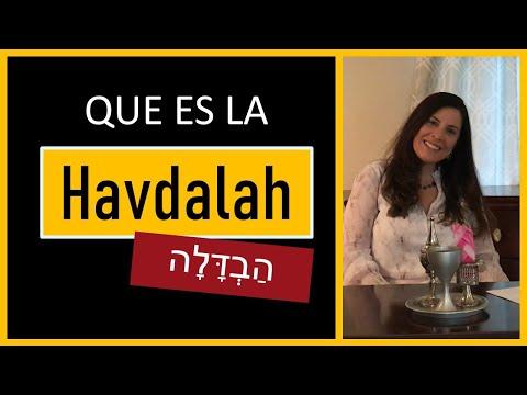 HAVDALAH? Que Hacer Cuando Termina Shabat? Simbolos De La Habdalah