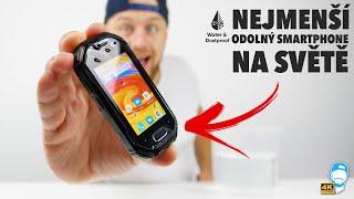 ???? Nejmenší odolný smartphone na světě? Úspěch z Kickstarteru, Unihertz Atom! | WRTECH [4K]