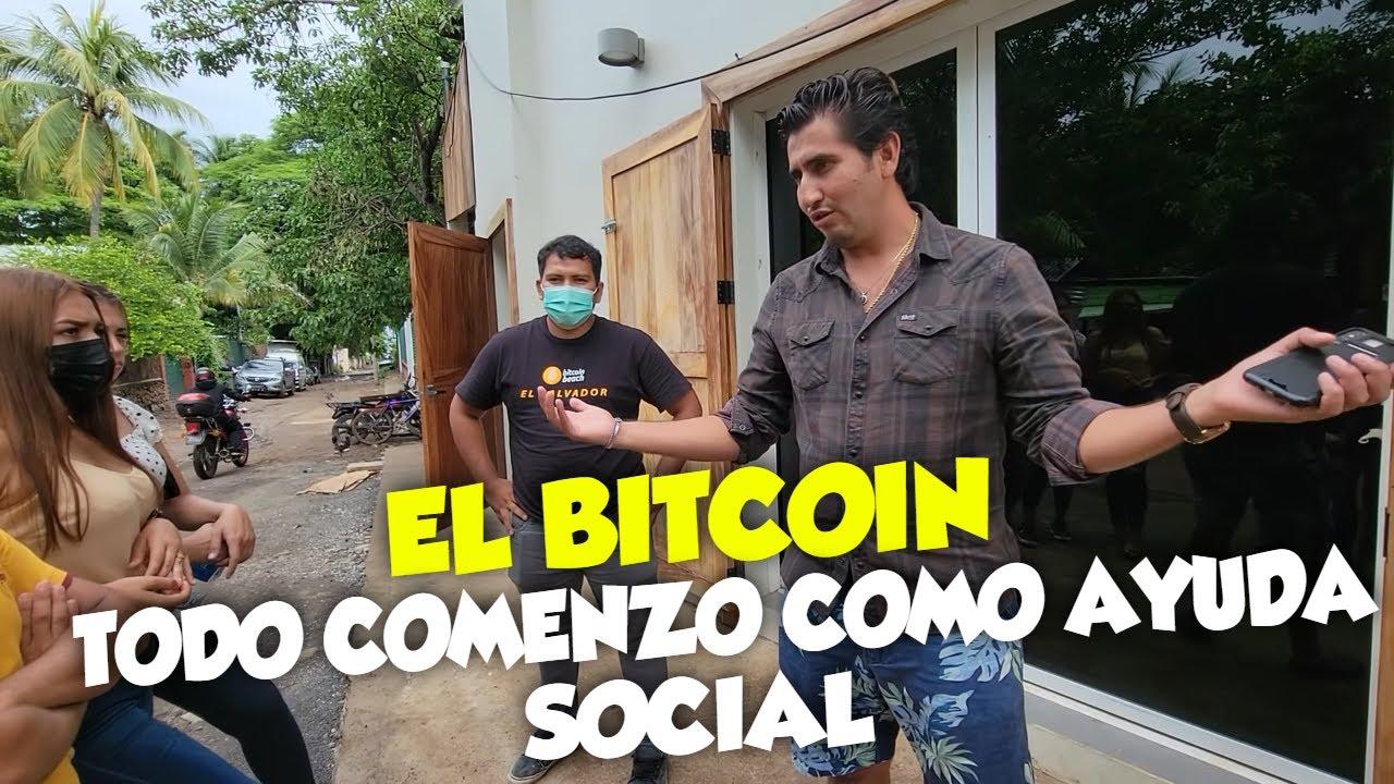 """""""EL BITCOIN"""" Empezo como un proyecto de ayuda para la juventud de la comunidad El Zonte . Parte 9"""