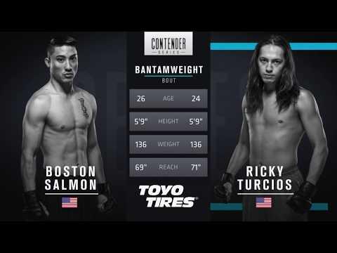 FREE FIGHT | Boston Salmon Displays Power and Stamina | DWTNCS Week 1 Contract Winner - Season 1