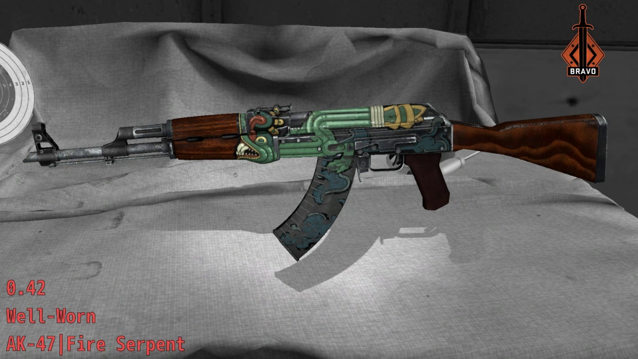 Ak 47 Fire Serpent Cs Go Stash