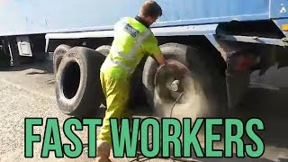 Fast Workers    Funny Videos