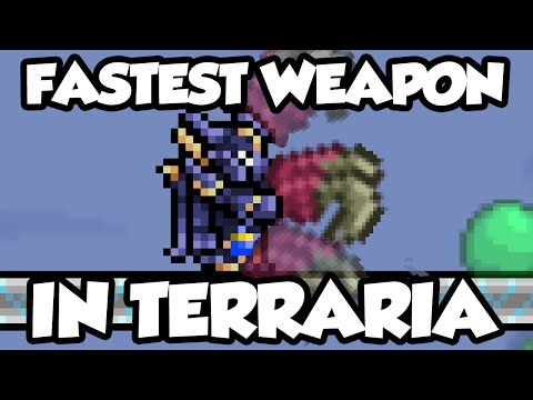 New Terraria 1.3 Weapons - The Fetid Baghnakhs - The Fastest Weapon / Sword In Terraria 1.3!