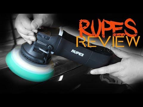 Rupes LHR15es MK2 bigfoot machine polisher review guide demo