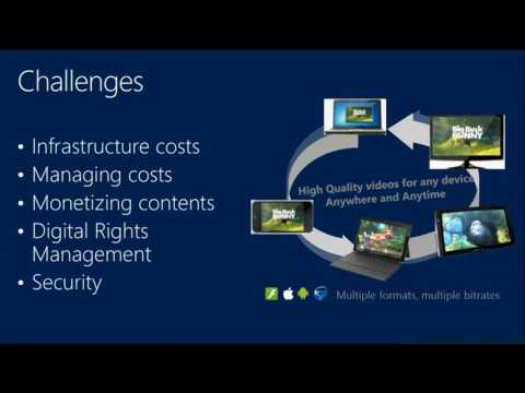 TechEd Europe 2013 Building Media Workflows in the Cloud with Windows Azure Media Services