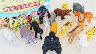 LIONS &CO MAXXI EDITION - Scopriamo la collezione completa di animali feroci [Apertura Blind Bags]
