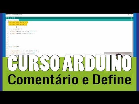 Dicas De Programação De Arduino: Comentários E Diretiva Define