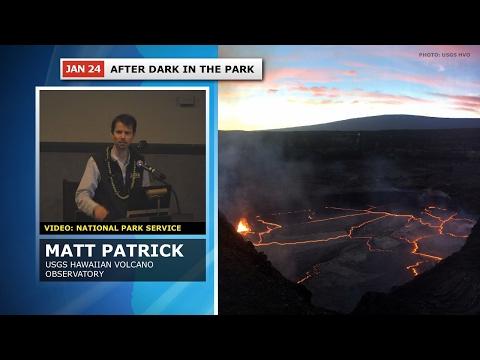 Volcano Talk - How USGS Observes Summit Lava Lake (Jan. 24, 2017)