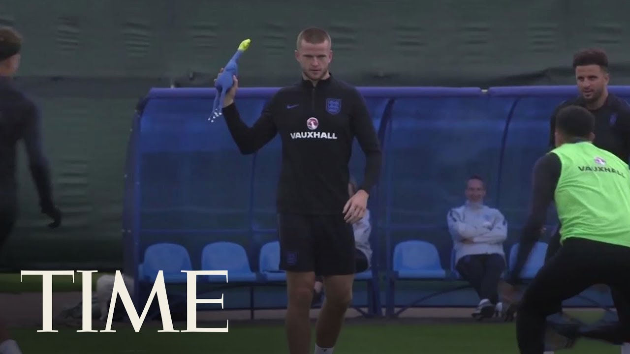 England Training For The World Cup Semi-Final With A Rubber Chicken Is Every Fan's Dream | TIME