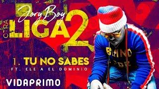 Jory Boy - Tu No Sabes Ft. Ele A El Dominio [Official Audio]