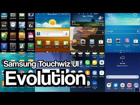 Samsung Galaxy TOUCHWIZ UI Evolution