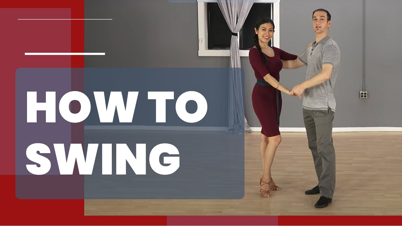 How To Swing Dance For Beginners (East Coast Swing)