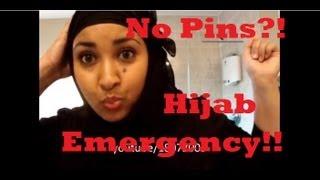 Hijab Emergencies- No Pins? (re-upload) Thumbnail