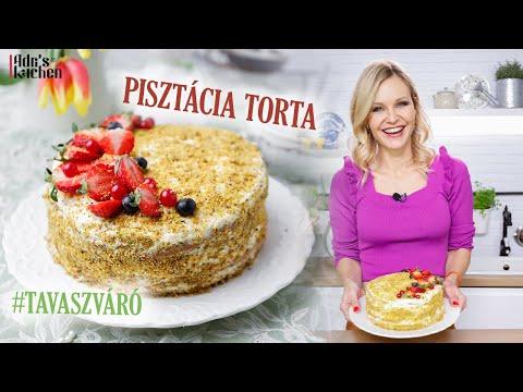 PISZTÁCIÁS HÚSVÉTI TORTA