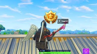 Semaine 5 SECRET Battle Star Emplacement! Fortnite Saison 5 Road Trip Battle Star Emplacement Saison 5 Semaine 5