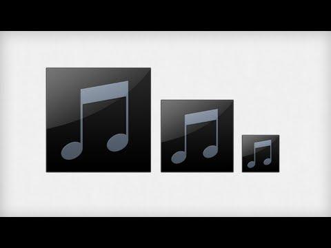Design the OSX Music Icon