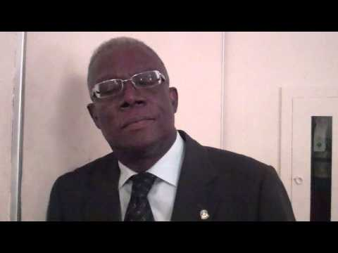 Herve Denis, président de la la Chambre de Commerce et des Industries d'Haiti (CCIH).MP4