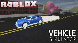 ROBLOX Vehicle Simulator (Customizing The Nissan GTR) Dream Car!!